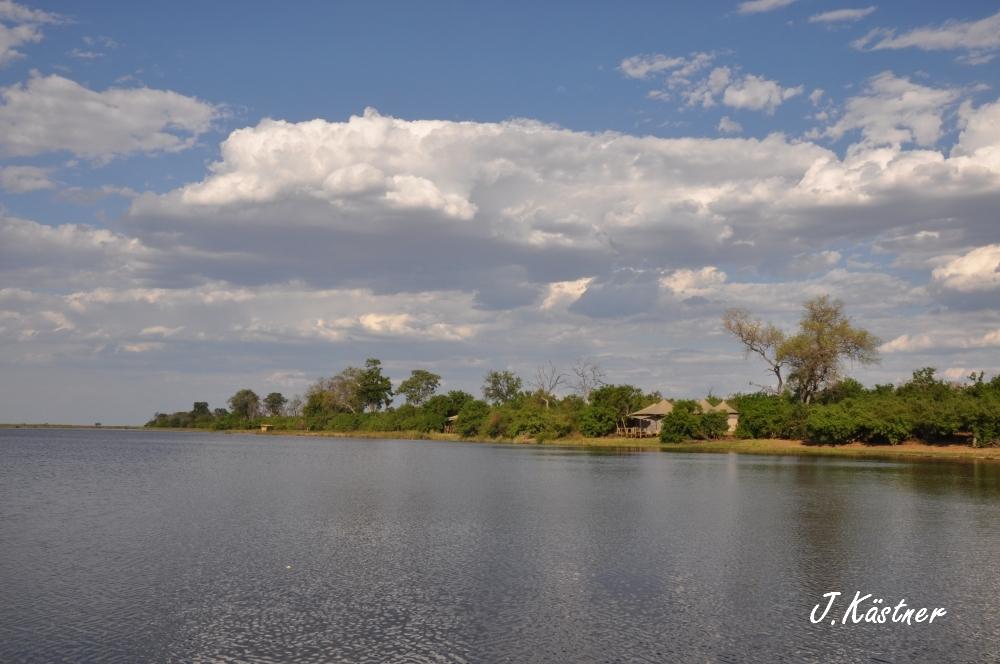Botswana Treasures. sonne safari botswana afrika  tui berlin Botswana Linyanti Duma Tau Camp Wasser