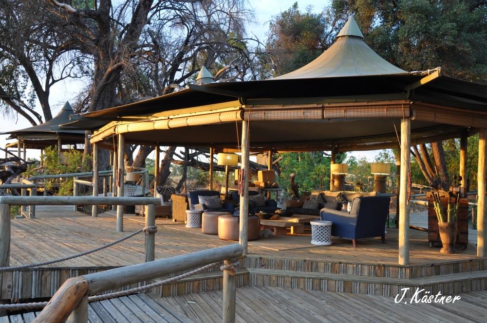 Botswana Treasures. sonne safari botswana afrika  tui berlin Botswana Okavango Delta Little Vumbura