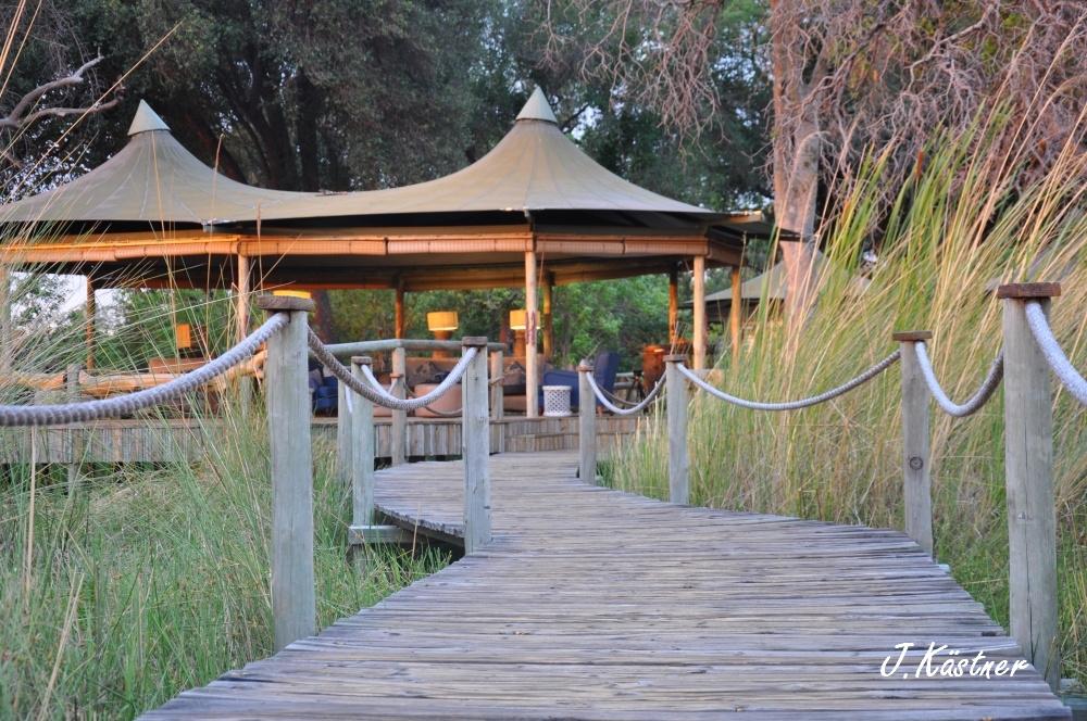 Botswana Treasures. sonne safari botswana afrika  tui berlin Botswana Okavango Delta Little Vumbura Camp
