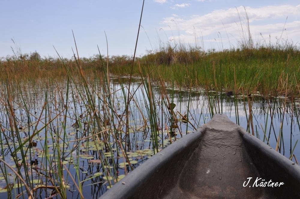 Botswana Treasures. sonne safari botswana afrika  tui berlin Botswana Okavango Delta Little Vumbura Mokoro