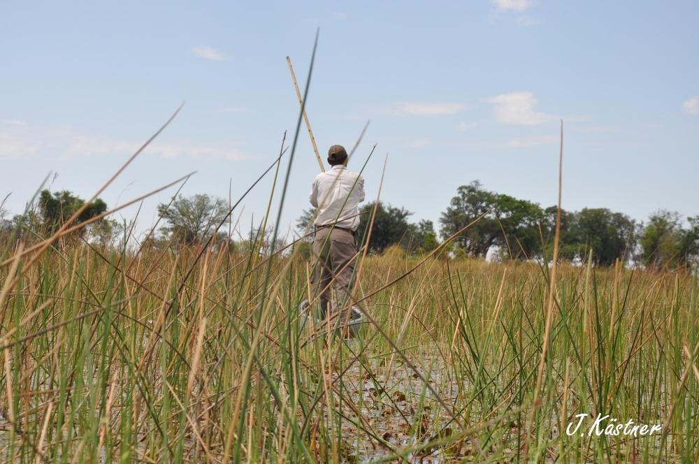 Botswana Treasures. sonne safari botswana afrika  tui berlin Botswana Okavango Delta Mokoro