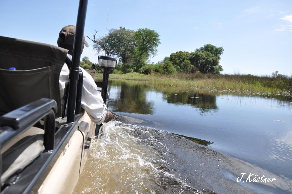 Botswana Treasures. sonne safari botswana afrika  tui berlin Botswana Okavango Delta Prischfahrt