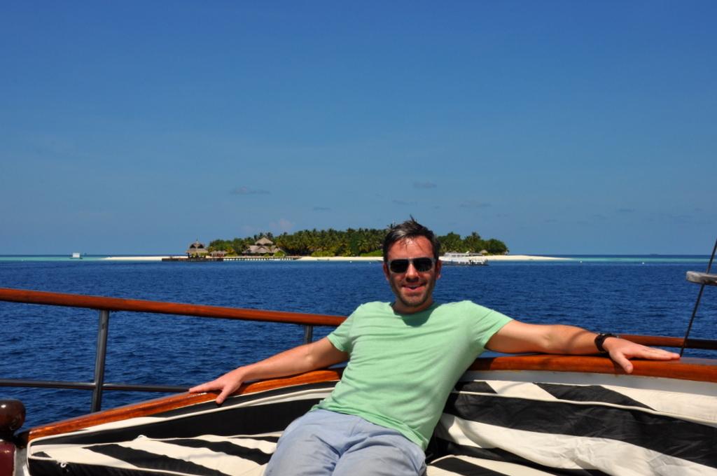 Malediven. Bring mich auf die Palme. Banyan Tree und Angsana. strand sonne malediven indischer ozean orient honeymoon 2  tui berlin Malediven Joerg Kaestner Bootsausflug