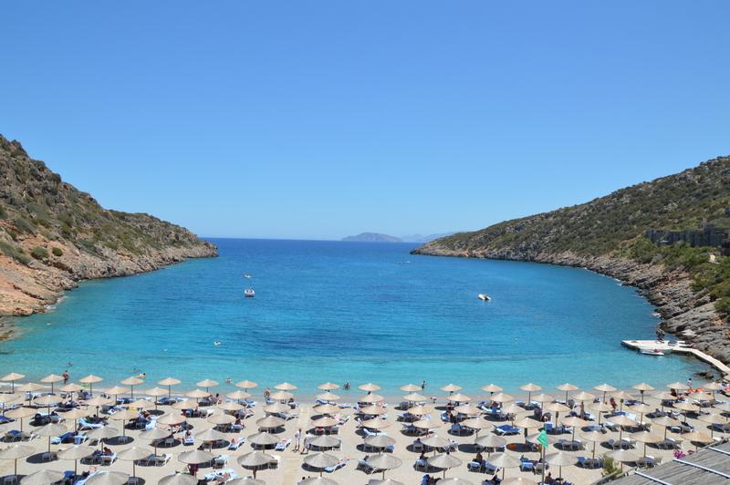 Glücklich Kochen auf Kreta strand sonne griechenland familie europa  tui berlin kreta griechenland daios cove bucht