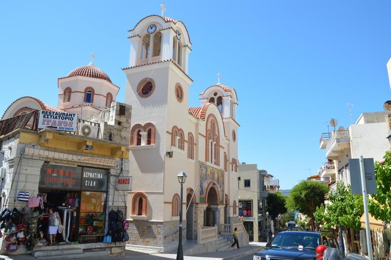 Glücklich Kochen auf Kreta strand sonne griechenland familie europa  tui berlin kreta griechenland daios cove kritsa kirche
