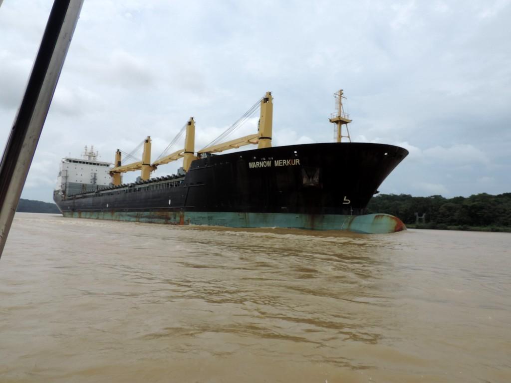 Durch den Panamakanal von Fort Lauderdale nach San Diego. usa sonne kreuzfahrt karibik mittelamerika  tui berlin kreuzfahrt panama kanal verkehr 1