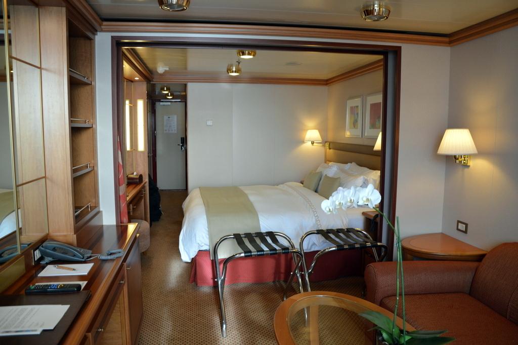 Meine Erlebnisse auf der Silver Spirit. staedtereisen kreuzfahrt europa  tui berlin silver spirit kreuzfahrt veranda suite 1