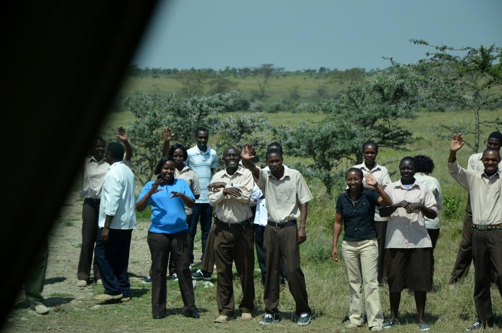 Ach, Afrika... Das neue Segera Retreat in Kenia. sonne safari kenia afrika  tui berlin afrika kenia segera staff 1