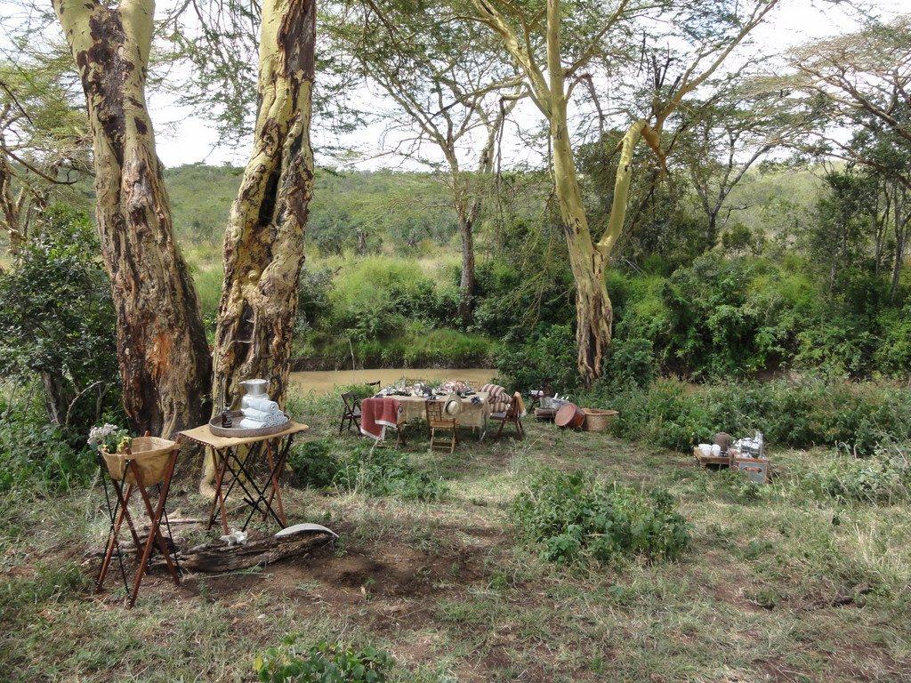 Ach, Afrika... Das neue Segera Retreat in Kenia. sonne safari kenia afrika  tui berlin afrika kenia segera wildnis lunch 1