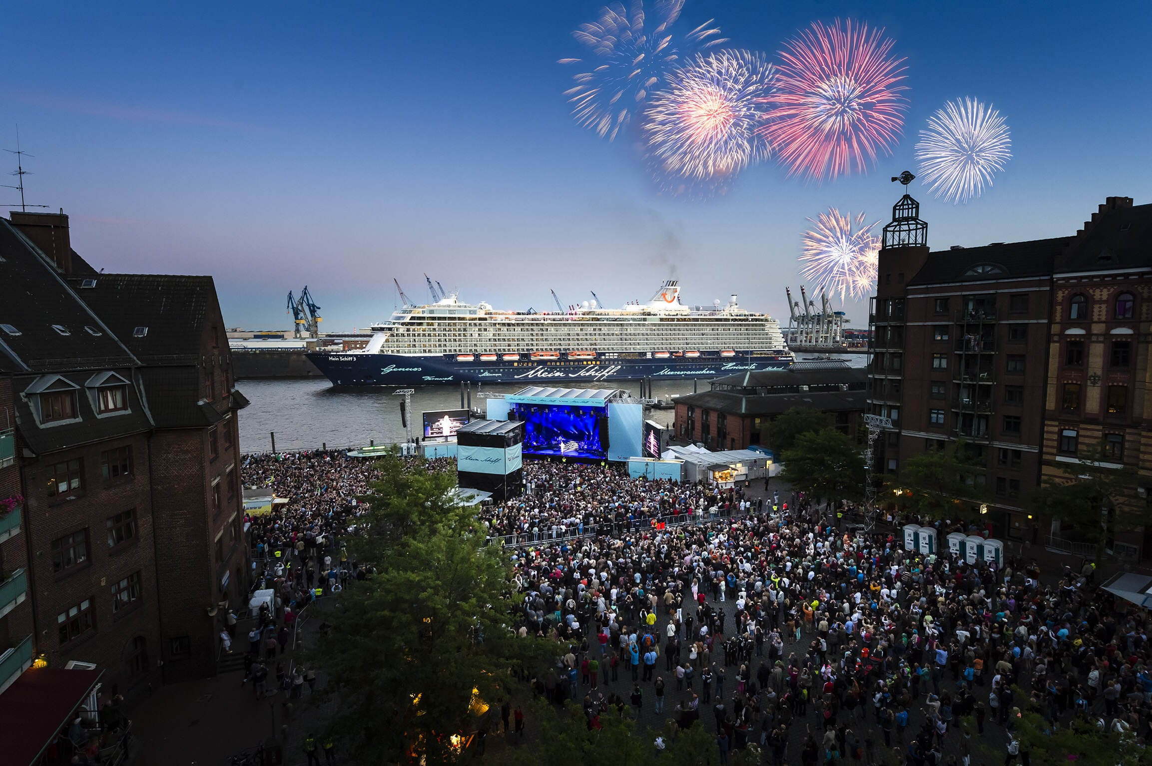 Premierenfahrt mit der Mein Schiff 3 kreuzfahrt europa  image2