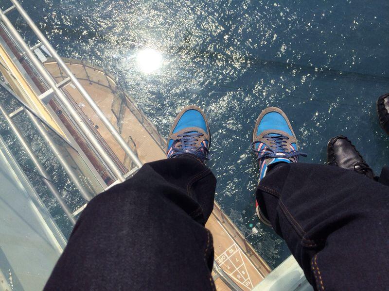 Premierenfahrt mit der Mein Schiff 3 kreuzfahrt europa  tui berlin mein schiff3 ausblick blauer balkon 1