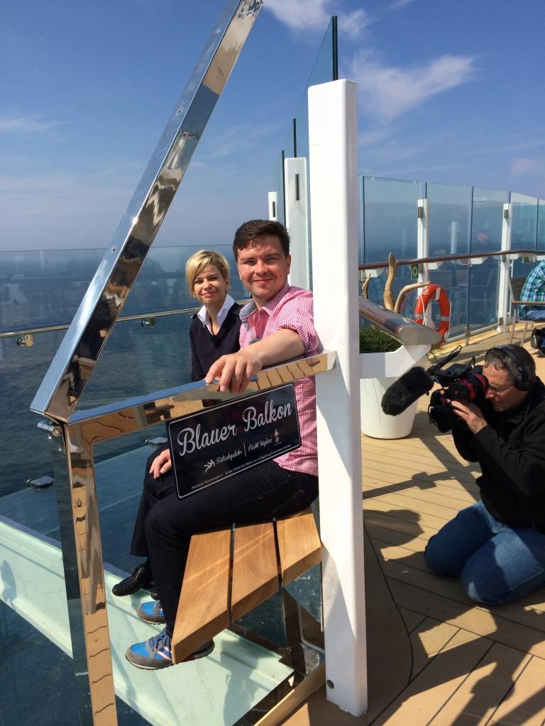 Premierenfahrt mit der Mein Schiff 3 kreuzfahrt europa  tui berlin mein schiff3 blauer balkon sebastian heinrich 1