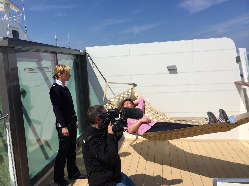 Premierenfahrt mit der Mein Schiff 3 kreuzfahrt europa  tui berlin mein schiff3 kabinen terrasse 1