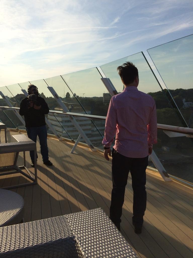 Premierenfahrt mit der Mein Schiff 3 kreuzfahrt europa  tui berlin mein schiff3 x lounge terrasse 1