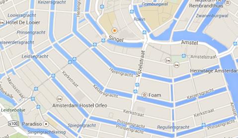 I amsterdam. staedtereisen niederlande europa  tui berlin amsterdam stadtplan innenstadt 1