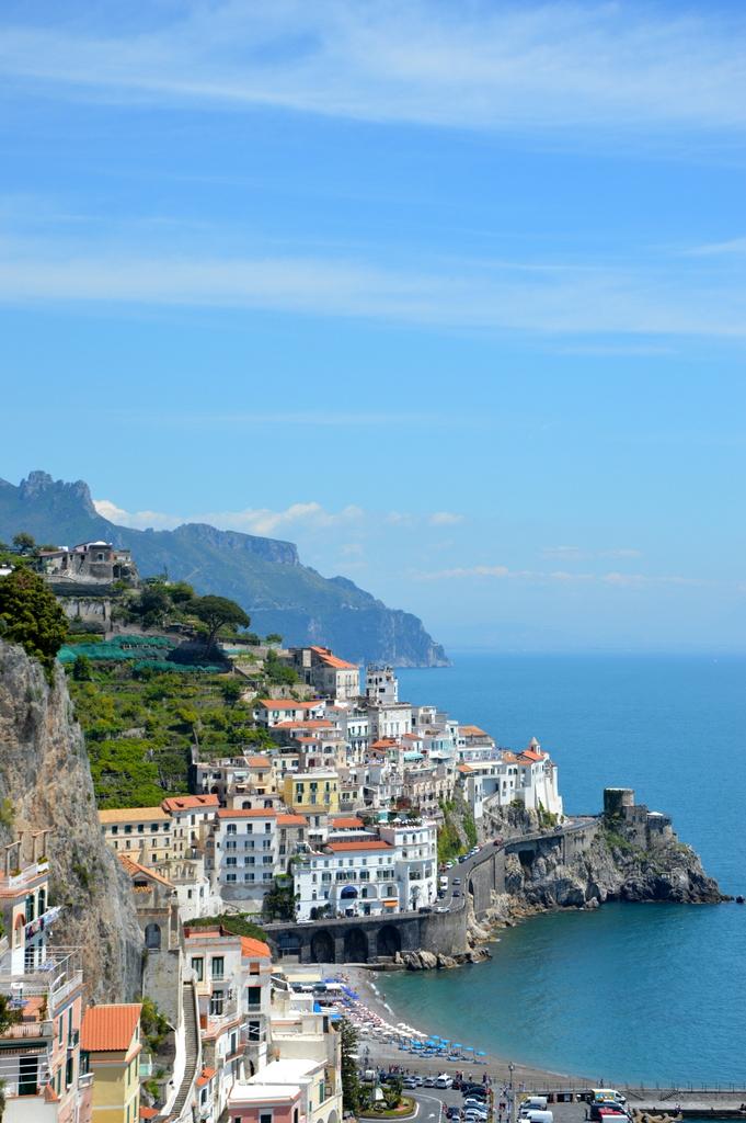 Sibylles Italienreise   von Napoli bis Amalfi staedtereisen sonne land und leute italien europa  tui berlin italien ausblick amalfi 1