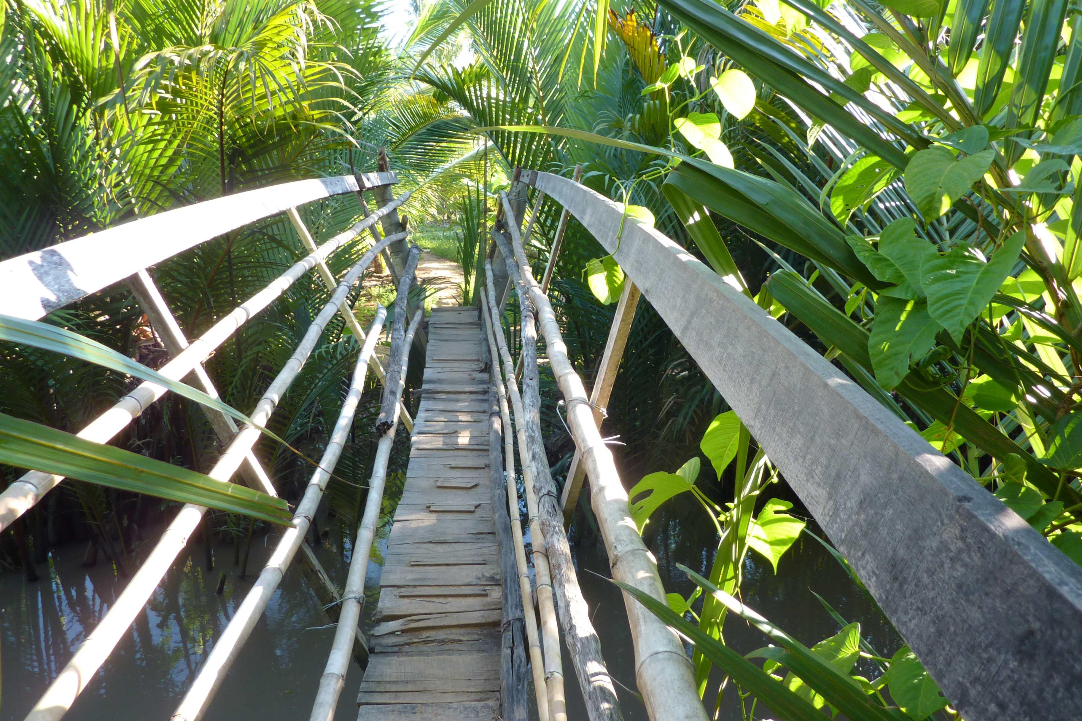 Kulinarisch unterwegs im Mekongdelta. Von Drachenaugen und Elefantenohrfischen. vietnam sonne land und leute asien  tui berlin vietnam mekong bruecke 1