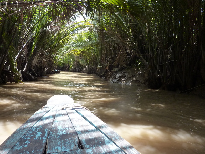 Kulinarisch unterwegs im Mekongdelta. Von Drachenaugen und Elefantenohrfischen. vietnam sonne land und leute asien  tui berlin vietnam mekong fluss verlauf 1