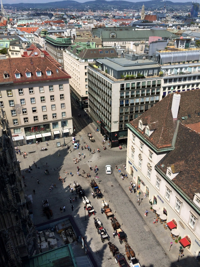 Wien und Bratislava   eine Städtekombination mit Aussicht staedtereisen oesterreich europa  tui berlin wien ausblick stephansdom stephansplatz 1