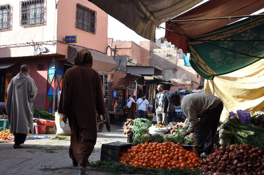 Marrakesch   Begegnungen in der Medina. staedtereisen sonne marokko afrika  DSC 6796
