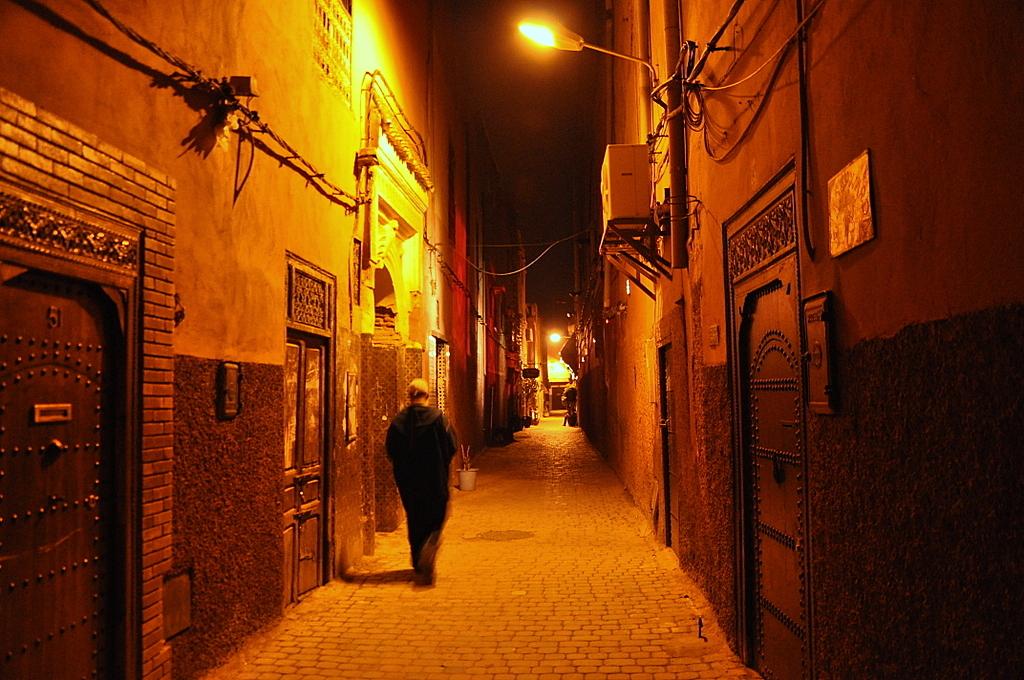 Marrakesch   Begegnungen in der Medina. staedtereisen sonne marokko afrika  DSC 6844