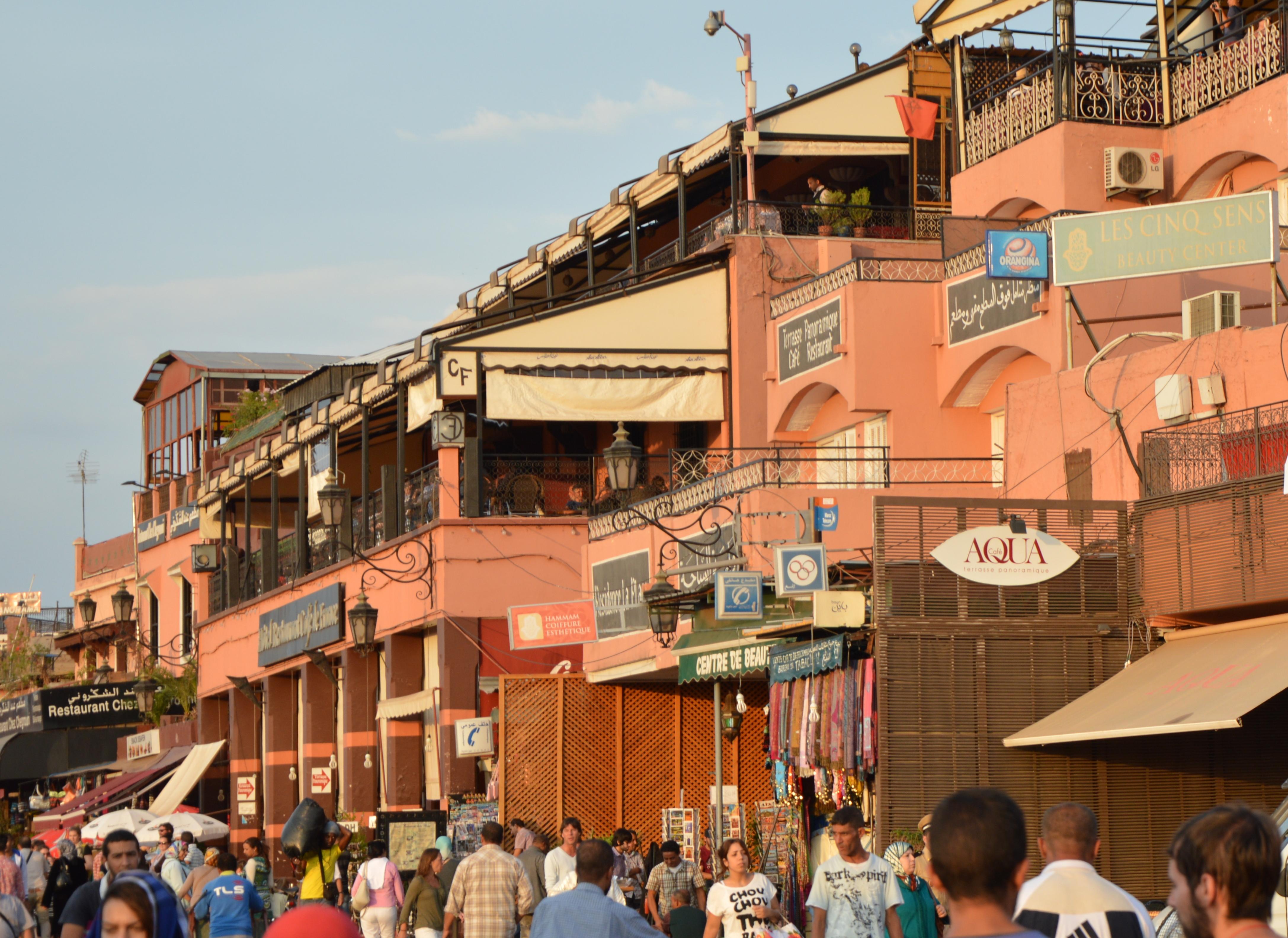 Marrakesch   Begegnungen in der Medina. staedtereisen sonne marokko afrika  DSC 0838
