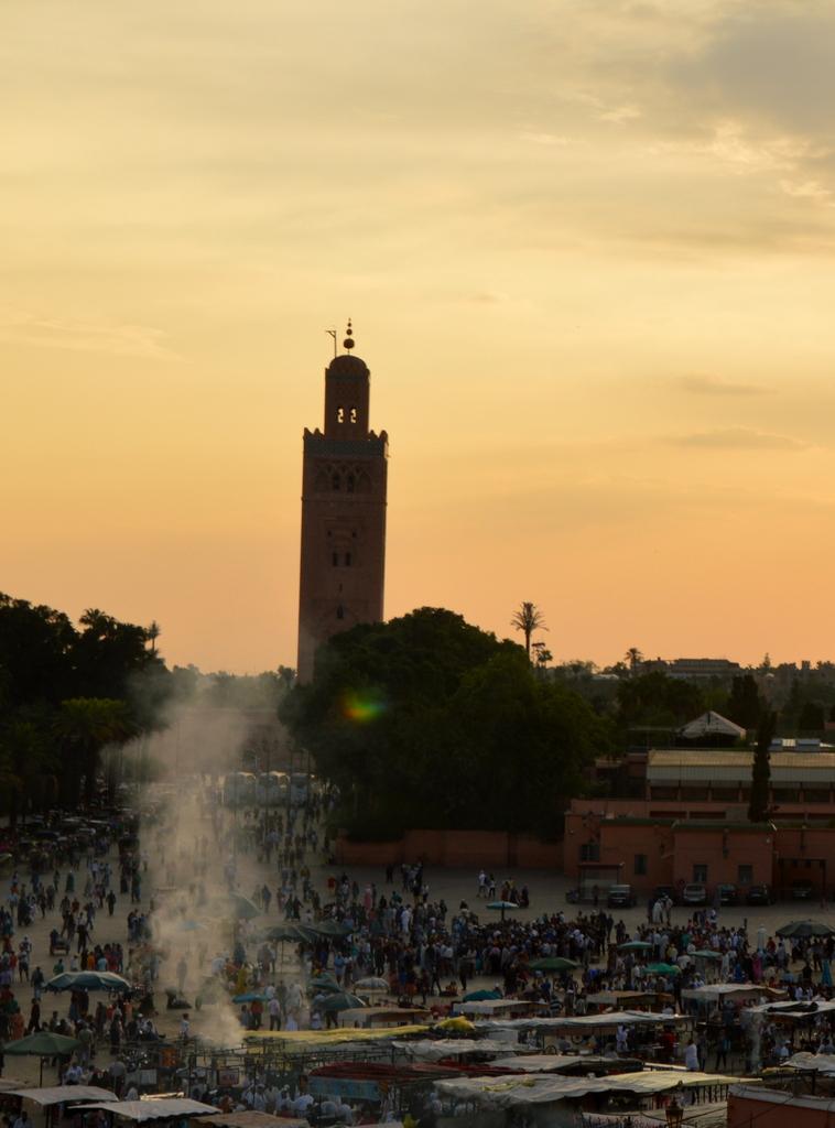 Marrakesch   Begegnungen in der Medina. staedtereisen sonne marokko afrika  DSC 0843