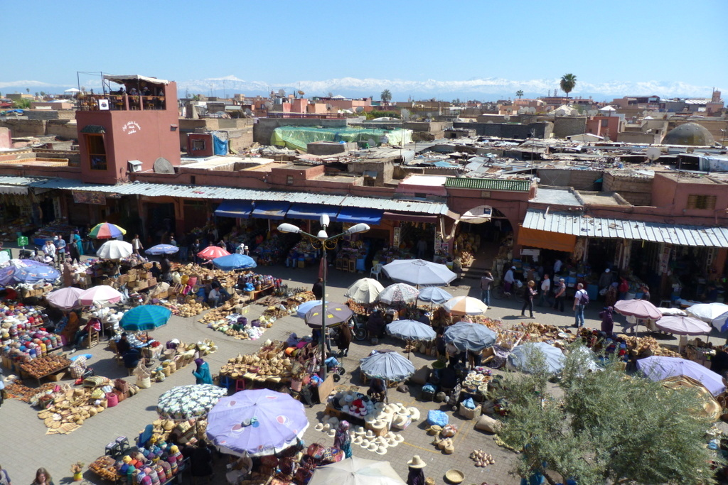 Marrakesch   Begegnungen in der Medina. staedtereisen sonne marokko afrika  P1140494