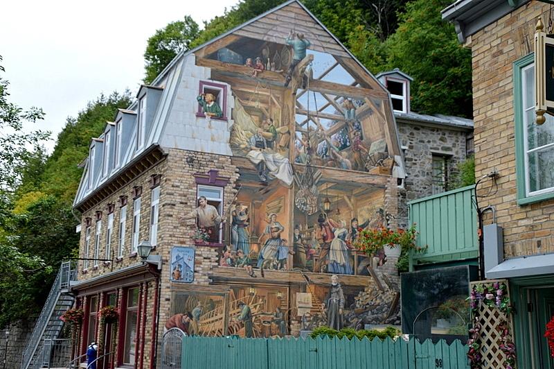 Auf Weltreise im Privatjet: Teil 2   Quebec und Tadoussac staedtereisen kanada karibik mittelamerika  tui berlin weltreise kanada oberstadt quebec gebaeude