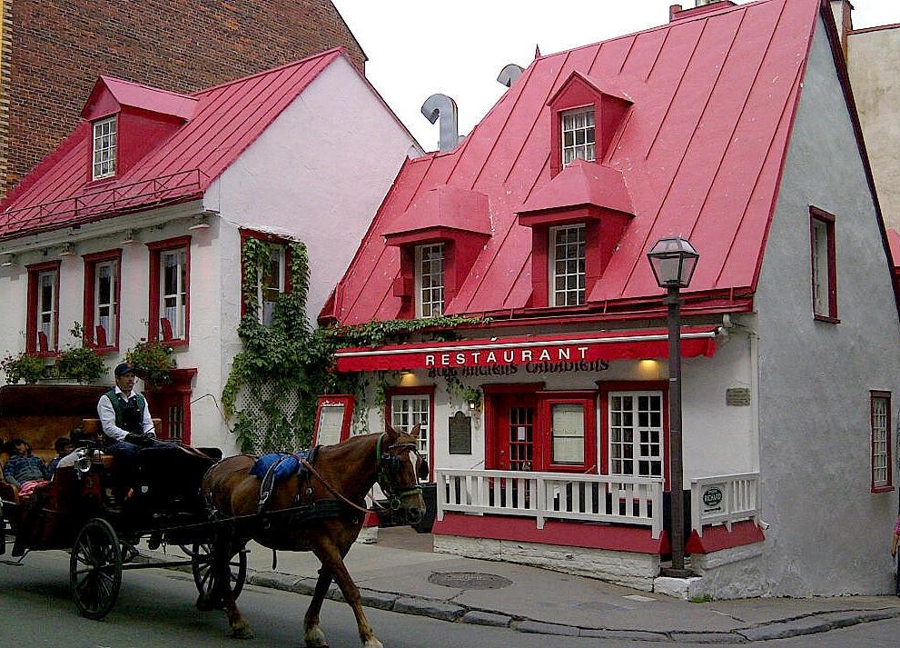 Auf Weltreise im Privatjet: Teil 2   Quebec und Tadoussac staedtereisen kanada karibik mittelamerika  tui berlin weltreise quebec restaurant