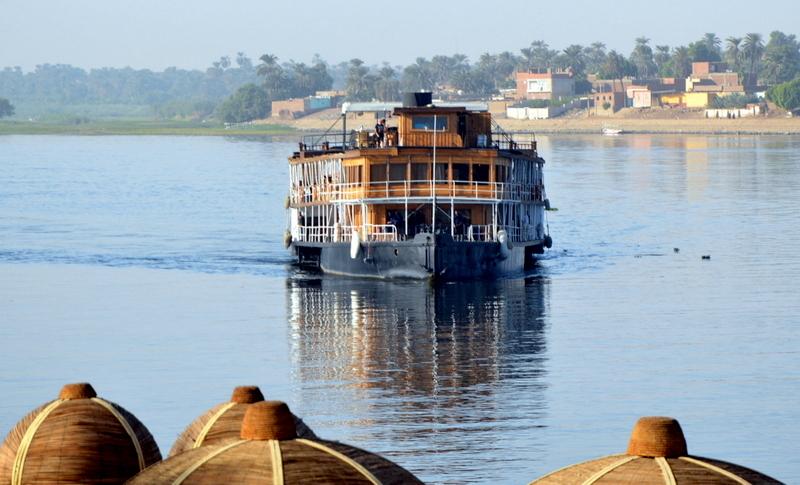 Neulich am Nil staedtereisen sonne land und leute kreuzfahrt aegypten afrika  tui berlin Aegypten Originalschiff Tod am Nil