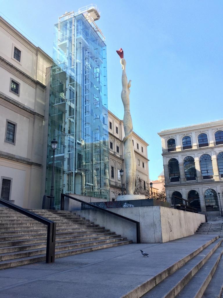 Kurze Wege in Madrid staedtereisen spanisches festland sonne reisebericht europa  tui berlin madrid museum reina sofia