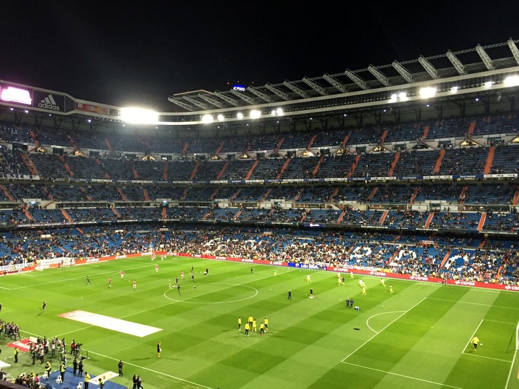 Kurze Wege in Madrid staedtereisen spanisches festland sonne reisebericht europa  tui berlin madrid santiago bernabeu stadion
