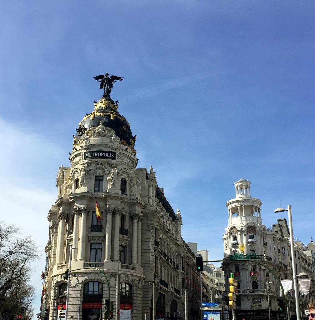 Kurze Wege in Madrid staedtereisen spanisches festland sonne reisebericht europa  tui berlin madrid tor gran via