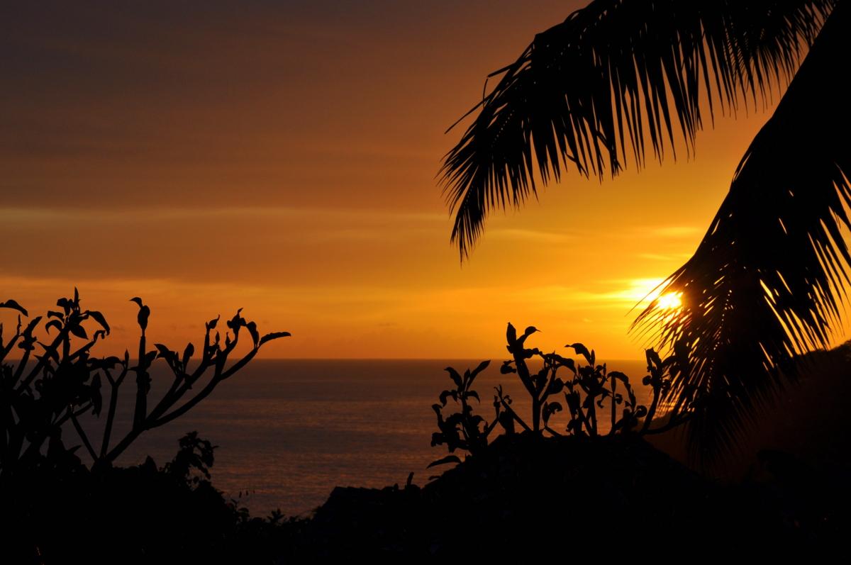 Traumtage auf den Seychellen   Banyan Tree Seychelles strand sonne seychellen indischer ozean orient honeymoon 2  tui berlin Seychellen Banyan Tree Sonnenuntergang