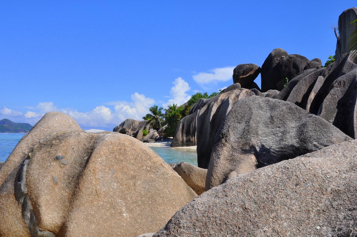 Traumtage auf den Seychellen: Mahé   La Digue   Praslin strand sonne seychellen indischer ozean orient honeymoon 2  tui berlin Seychellen Pte Source D Argent