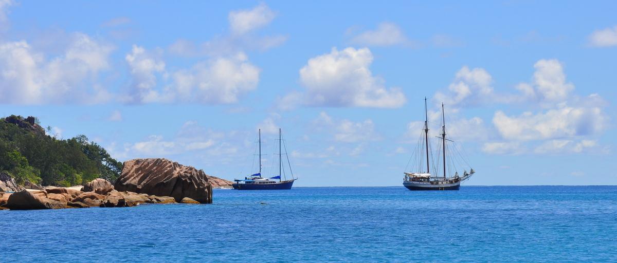 Traumtage auf den Seychellen: Mahé   La Digue   Praslin strand sonne seychellen indischer ozean orient honeymoon 2  tui berlin Seychellen Yachten