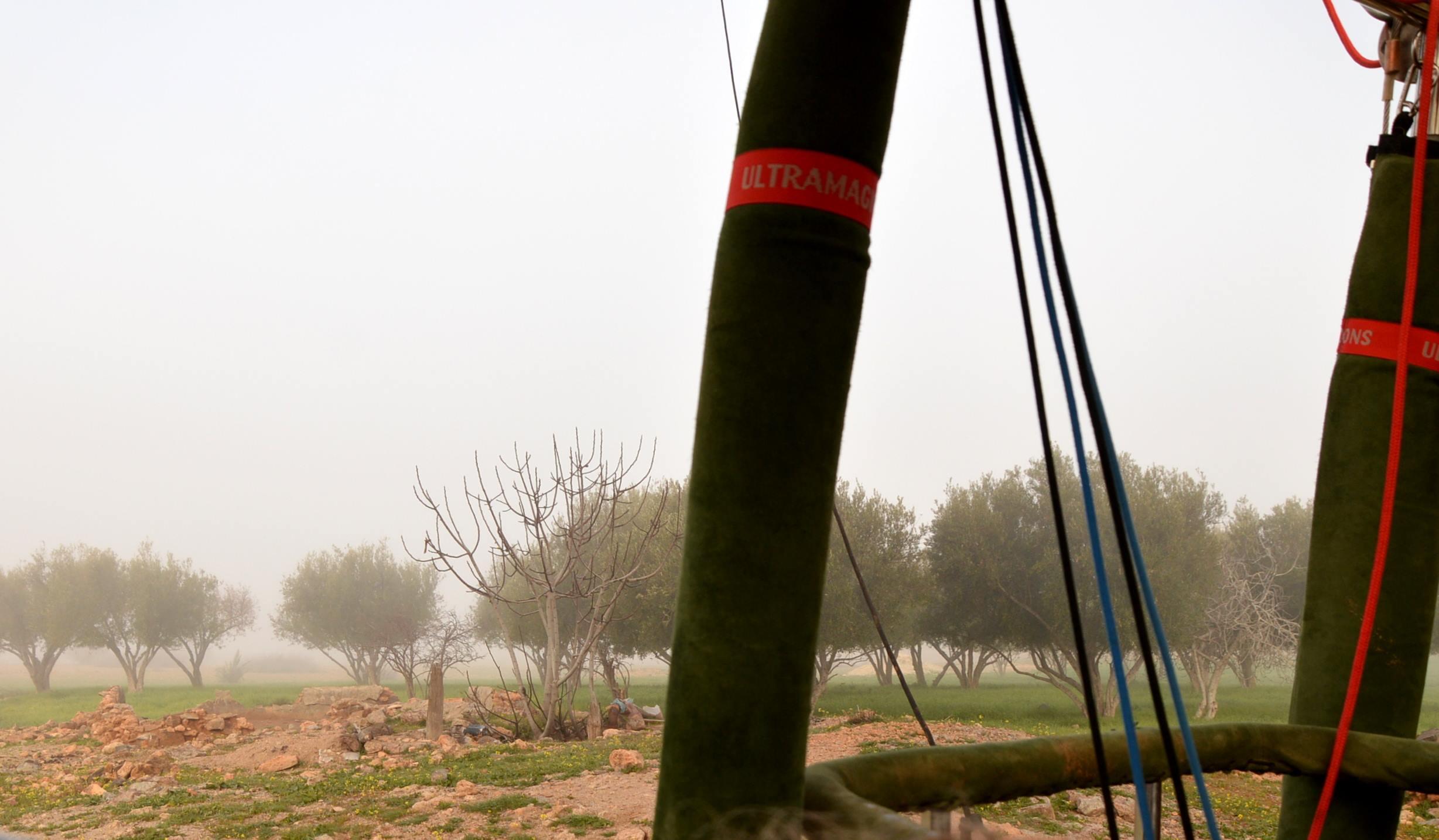 Mit dem Heißluftballon über Marrakesch schweben staedtereisen sonne marokko afrika  tui berlin ballon landung