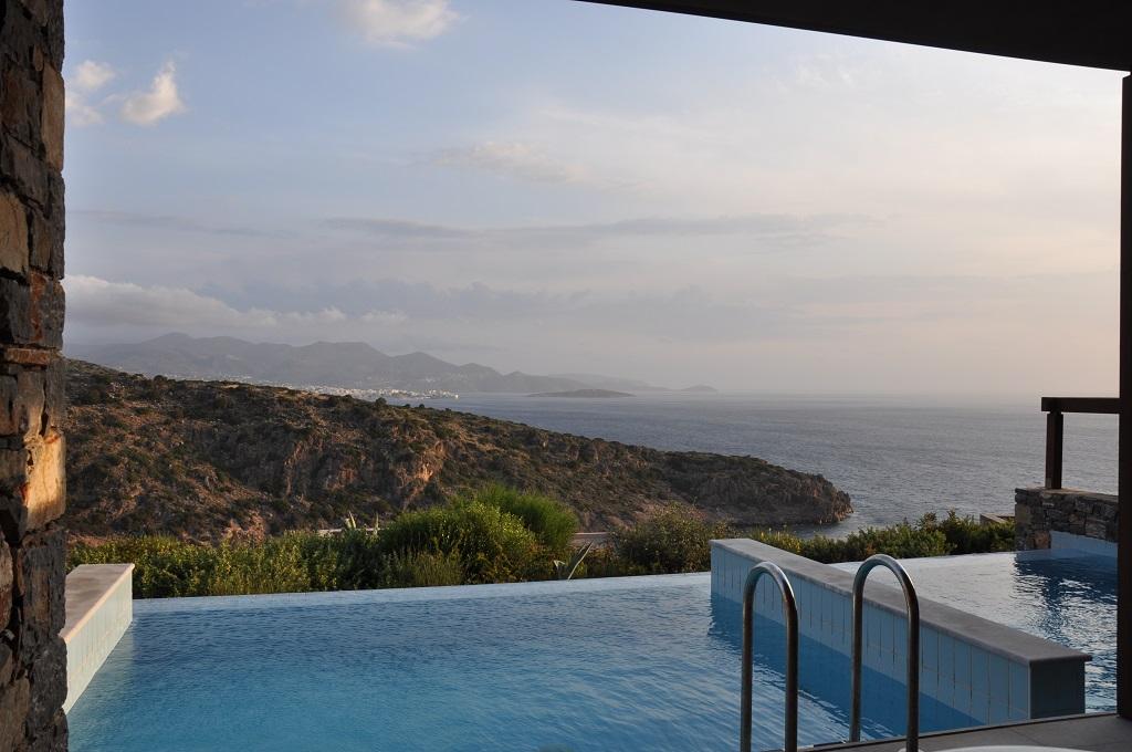 Offroad auf Kreta unterwegs   Land Rover Adventure Tour Greece 2015 sonne land und leute griechenland europa  tui berlin daios pool blick