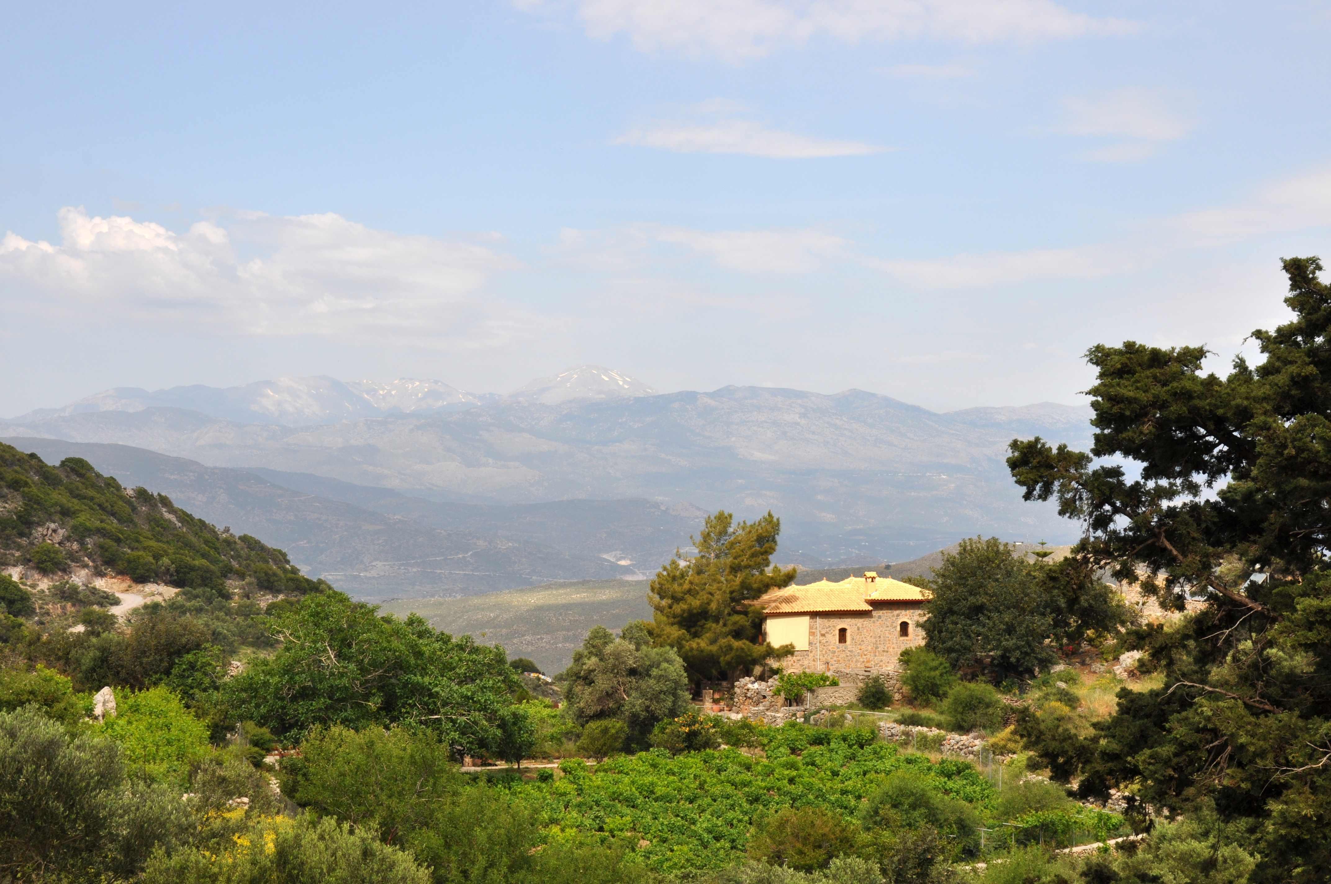 Offroad auf Kreta unterwegs   Land Rover Adventure Tour Greece 2015 sonne land und leute griechenland europa  tui berlin kreta ausblick