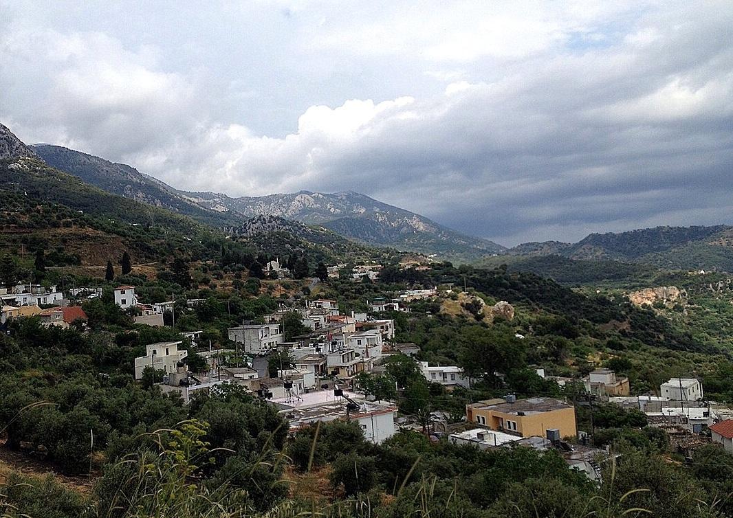 Offroad auf Kreta unterwegs   Land Rover Adventure Tour Greece 2015 sonne land und leute griechenland europa  tui berlin kreta bergdorf