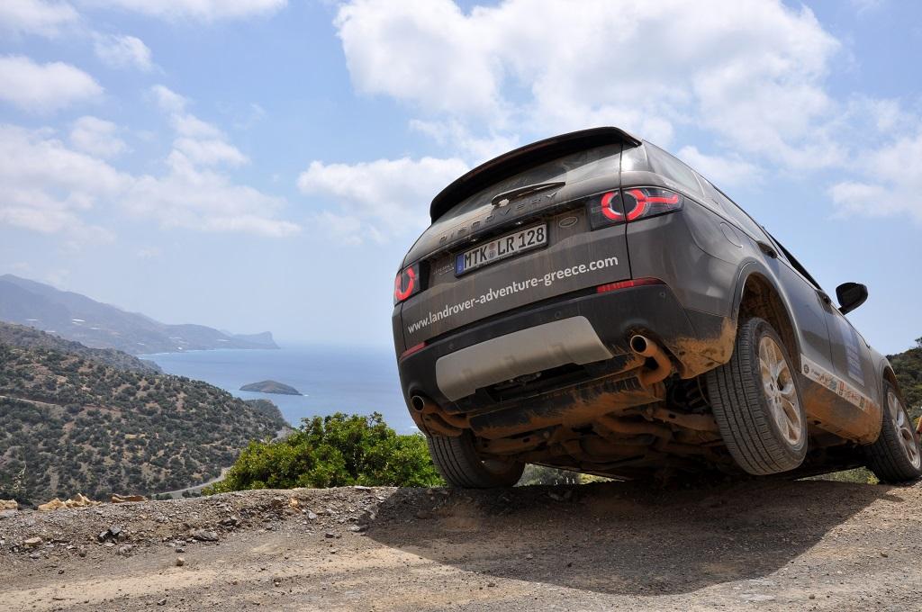 Offroad auf Kreta unterwegs   Land Rover Adventure Tour Greece 2015 sonne land und leute griechenland europa  tui berlin kreta landrover offroad