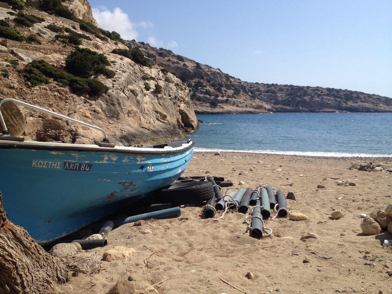 Offroad auf Kreta unterwegs   Land Rover Adventure Tour Greece 2015 sonne land und leute griechenland europa  tui berlin kreta offroad bucht