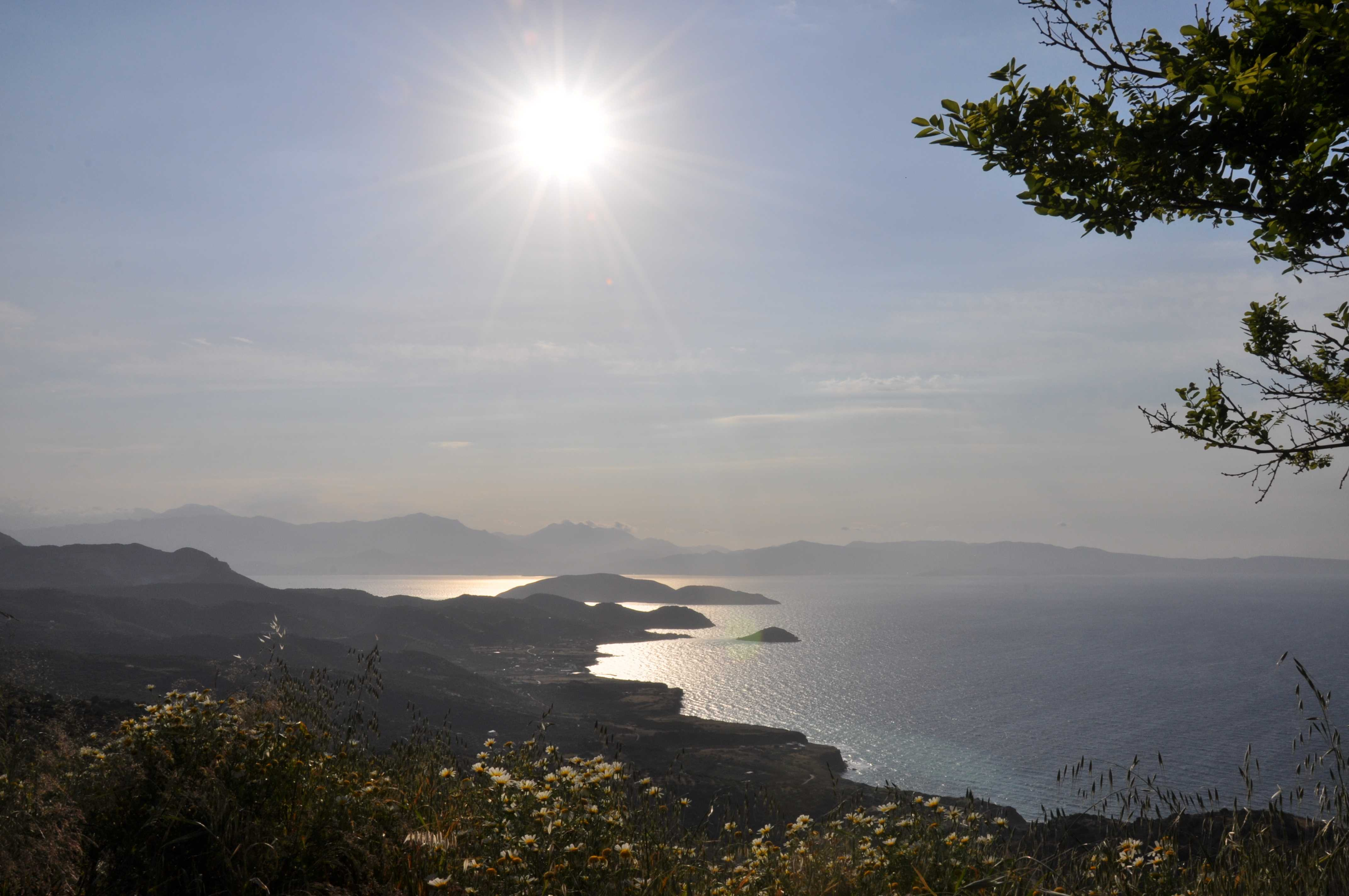 Offroad auf Kreta unterwegs   Land Rover Adventure Tour Greece 2015 sonne land und leute griechenland europa  tui berlin kreta panorama
