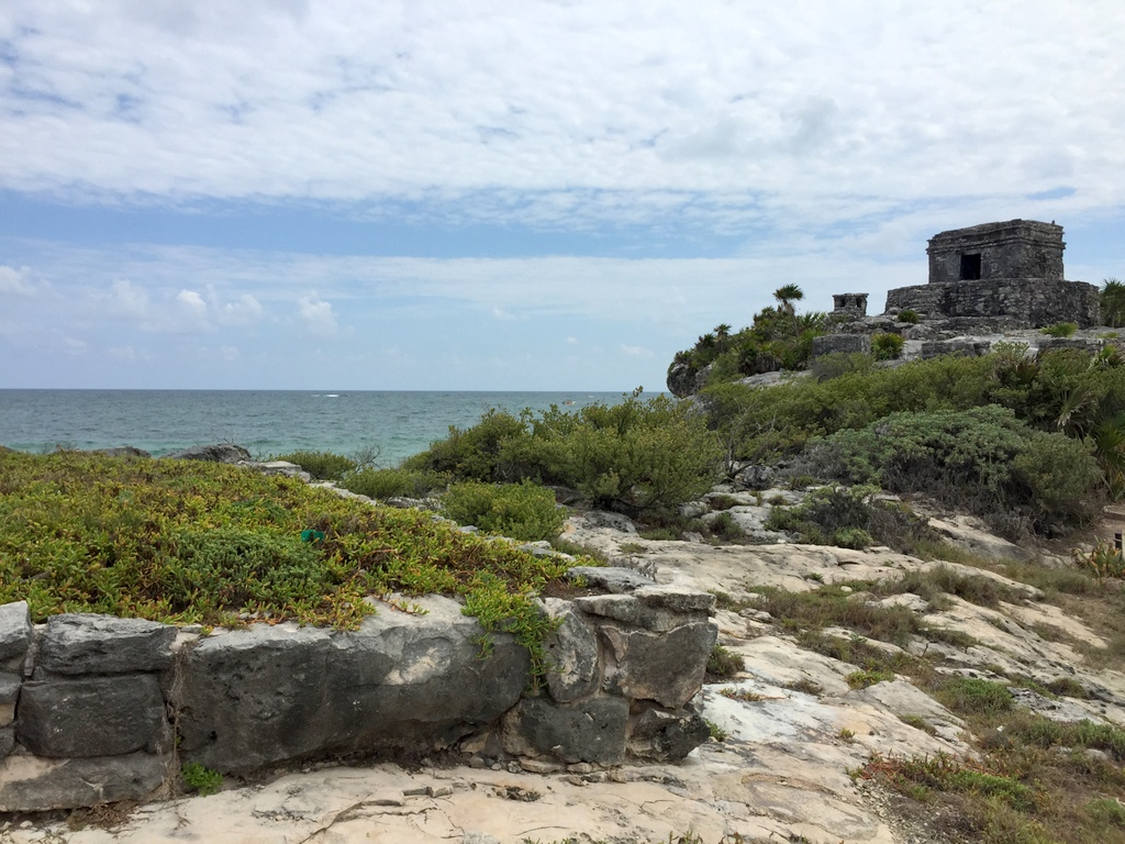 Kleine Mexiko Rundreise   Teil 3: Yucatan Halbinsel strand sonne mexiko laender karibik mittelamerika  tui berlin mexiko tulum ausblick