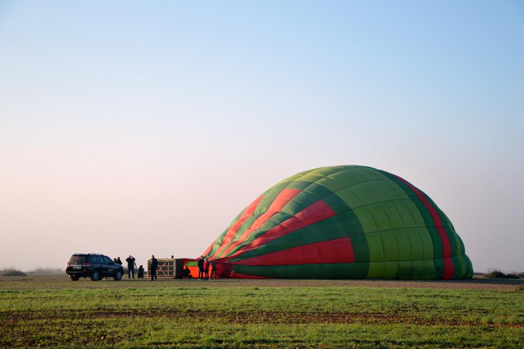 Mit dem Heißluftballon über Marrakesch schweben staedtereisen sonne marokko afrika  tui berlin Marrakesch Heissluftballon