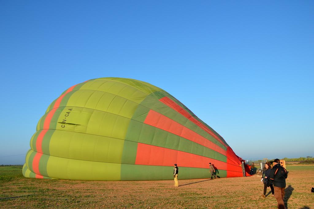 Mit dem Heißluftballon über Marrakesch schweben staedtereisen sonne marokko afrika  tui berlin Marrakesch Heissluftbalon 1