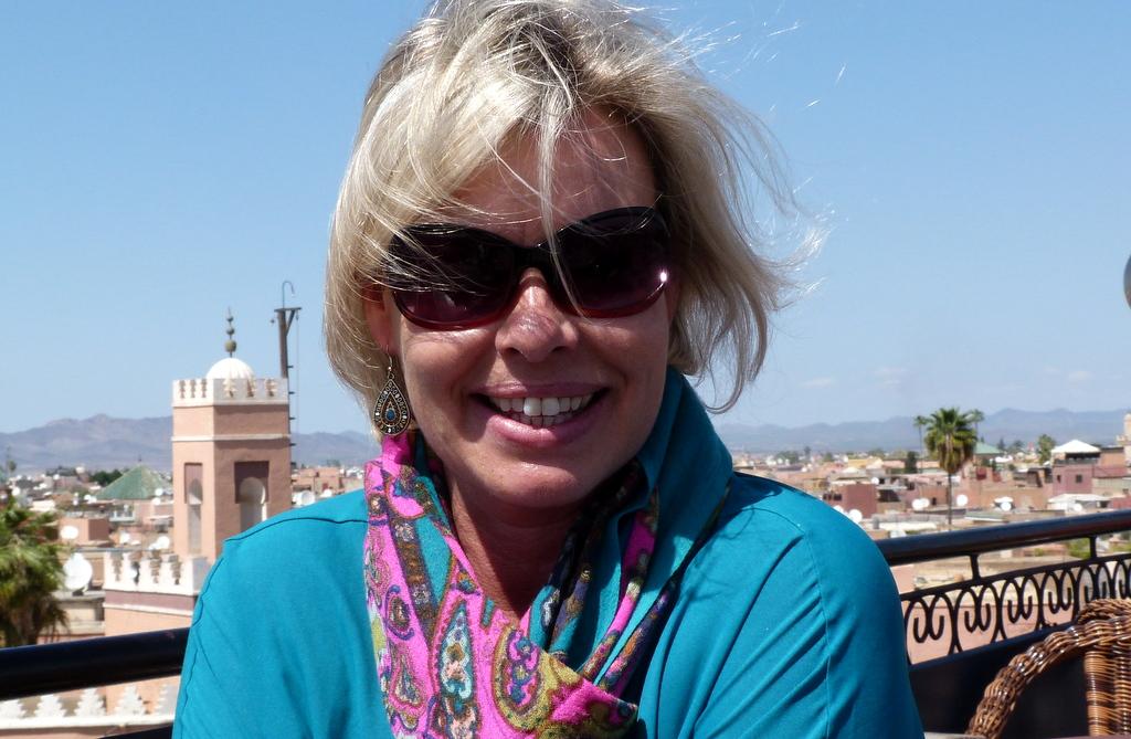 Mit dem Heißluftballon über Marrakesch schweben staedtereisen sonne marokko afrika  tui berlin Marrakesch Medina