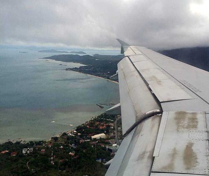 Thailand Anflug Koh Samui
