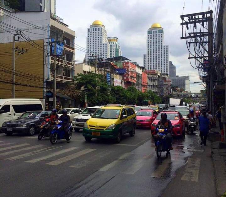 TUI Berlin Bangkok Verkehr